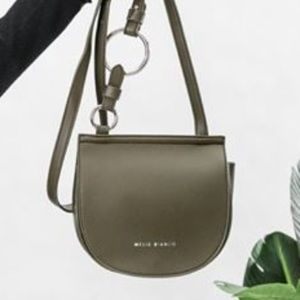Melie Bianco Vegan leather crossbody.